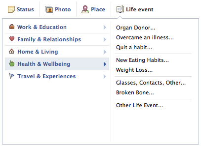 Facebook added organ donor status to profiles in May 2012