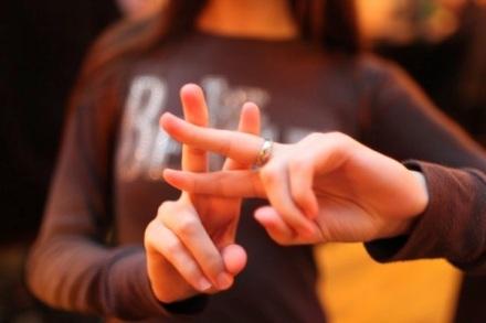 Hashtag fingers