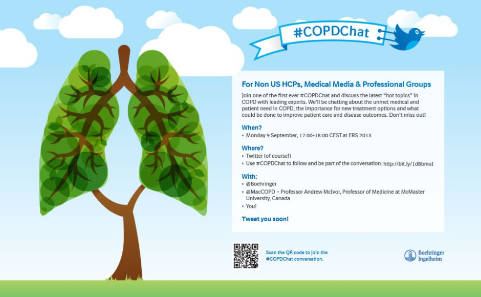 Boehringer's #COPDchat during #ERS2013
