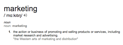 Marketing defintion